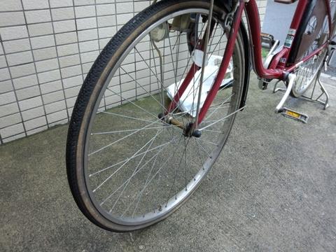 自転車の 自転車のタイヤ交換 自分で : ママチャリのタイヤ交換:BMW ...
